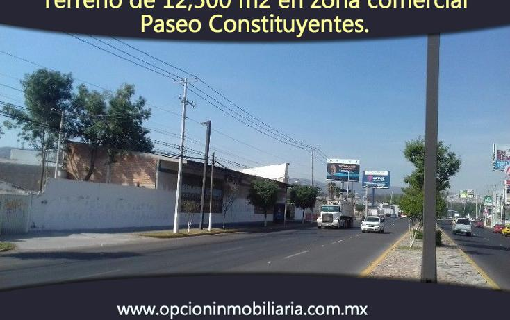 Foto de terreno comercial en venta en  , constituyentes, querétaro, querétaro, 1939461 No. 02