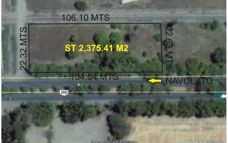 Foto de terreno comercial en venta en  , convención de aguascalientes, navolato, sinaloa, 856387 No. 01