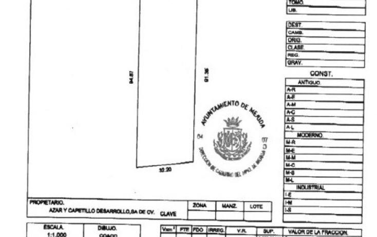Foto de terreno comercial en venta en, cordemex, mérida, yucatán, 1132927 no 09