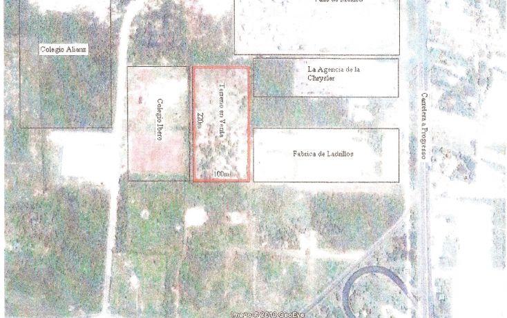 Foto de terreno habitacional en venta en, cordemex, mérida, yucatán, 1166353 no 02