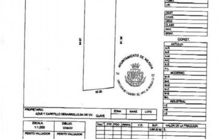 Foto de terreno comercial en venta en, cordemex, mérida, yucatán, 1228747 no 03