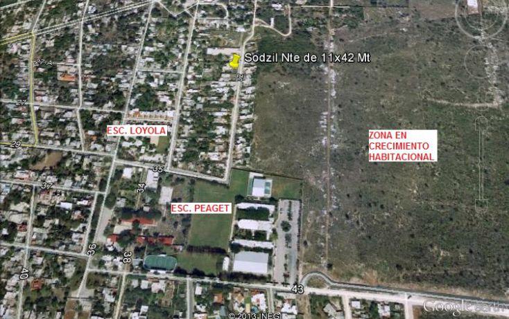 Foto de terreno habitacional en venta en, cordemex, mérida, yucatán, 1280945 no 05