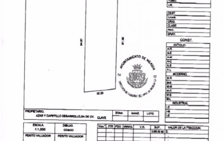 Foto de terreno habitacional en venta en, cordemex, mérida, yucatán, 1504665 no 04