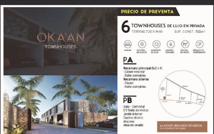 Foto de casa en condominio en venta en, cordemex, mérida, yucatán, 1780296 no 02