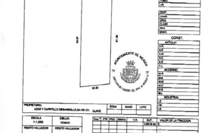 Foto de terreno comercial en venta en, cordemex, mérida, yucatán, 2029632 no 03