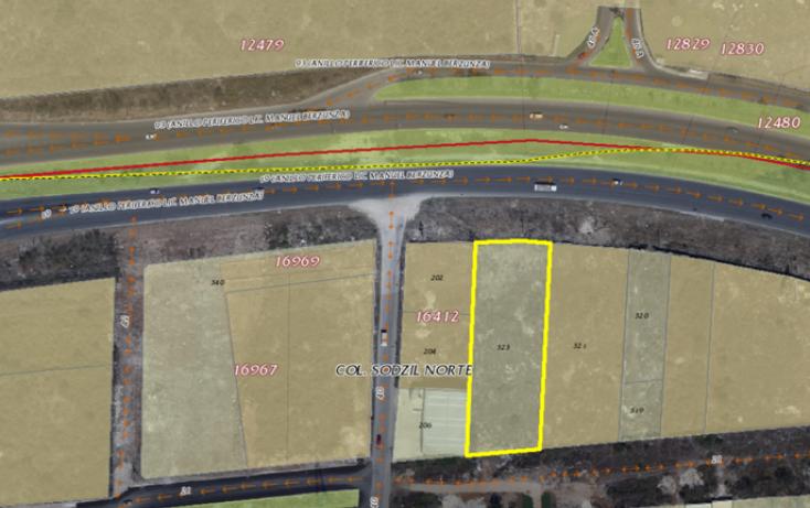Foto de terreno comercial en venta en, cordemex, mérida, yucatán, 2029632 no 04