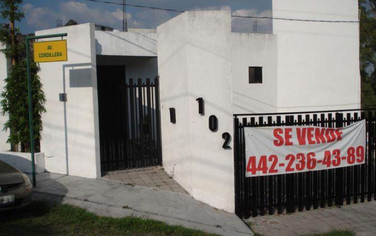 Foto de casa en venta en cordillera 102, huertas la joya, querétaro, querétaro, 2012258 no 01