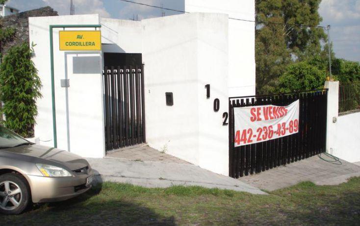 Foto de casa en venta en cordillera 102, huertas la joya, querétaro, querétaro, 2012258 no 02
