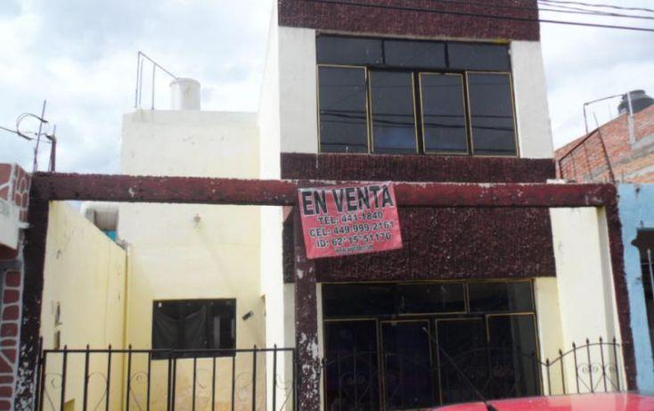 Foto de casa en venta en coronel josé rincón gallardo 333, la barranquilla, aguascalientes, aguascalientes, 1622190 no 01