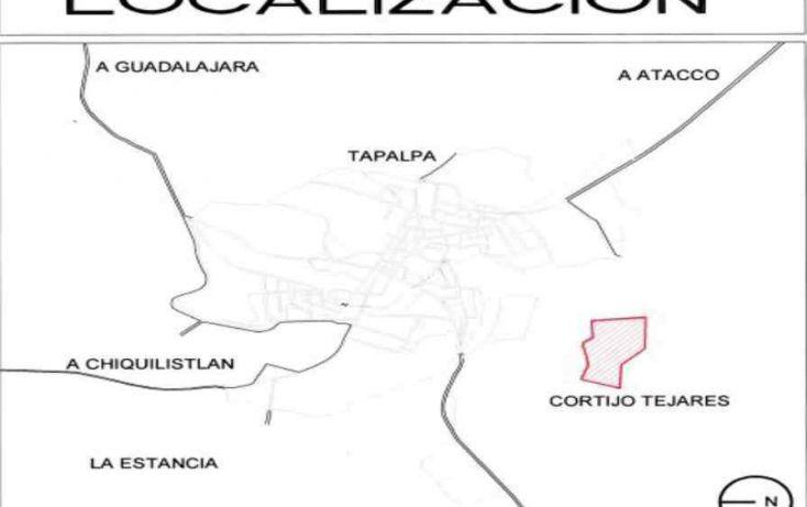Foto de terreno habitacional en venta en cortijo tejares lote 7, tapalpa, tapalpa, jalisco, 1719730 no 03
