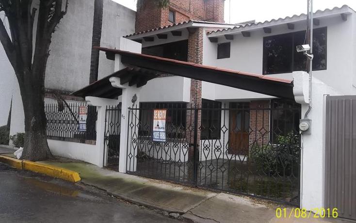 Foto de casa en renta en costa de marfil 60 60, chimalli, tlalpan, distrito federal, 1952704 No. 01