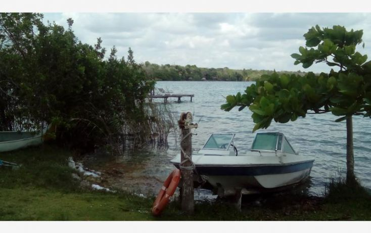 Foto de terreno comercial en venta en costera 1 sur, el naranjal, bacalar, quintana roo, 1819740 no 01
