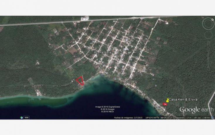 Foto de terreno comercial en venta en costera 1 sur, el naranjal, bacalar, quintana roo, 1819740 no 09