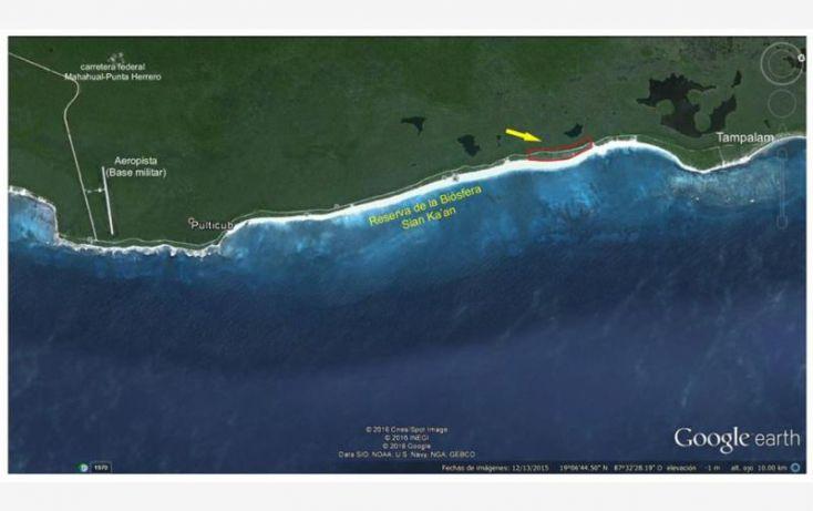 Foto de terreno comercial en venta en costera norte 51, kuchumatán, bacalar, quintana roo, 2007832 no 02