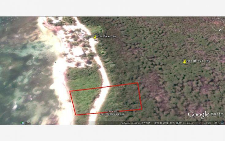 Foto de terreno comercial en venta en costera sur 4, mahahual, othón p blanco, quintana roo, 1980402 no 09