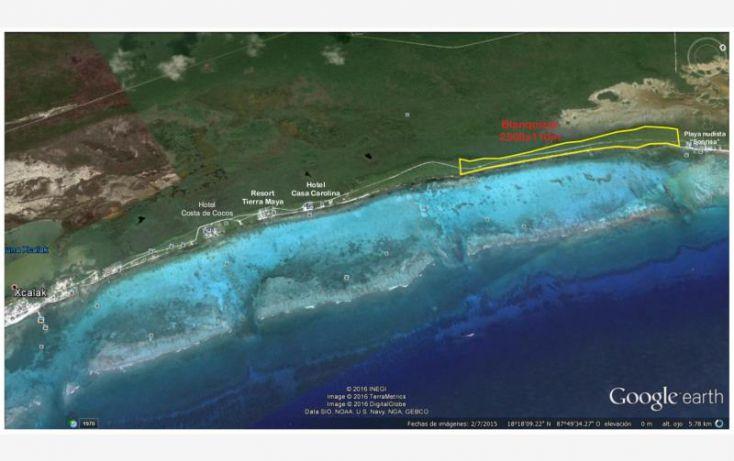 Foto de terreno comercial en venta en costera sur 49, kuchumatán, bacalar, quintana roo, 2029374 no 01