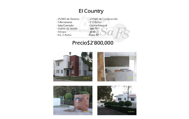 Foto de casa en venta en  , country, san juan del río, querétaro, 1501643 No. 01