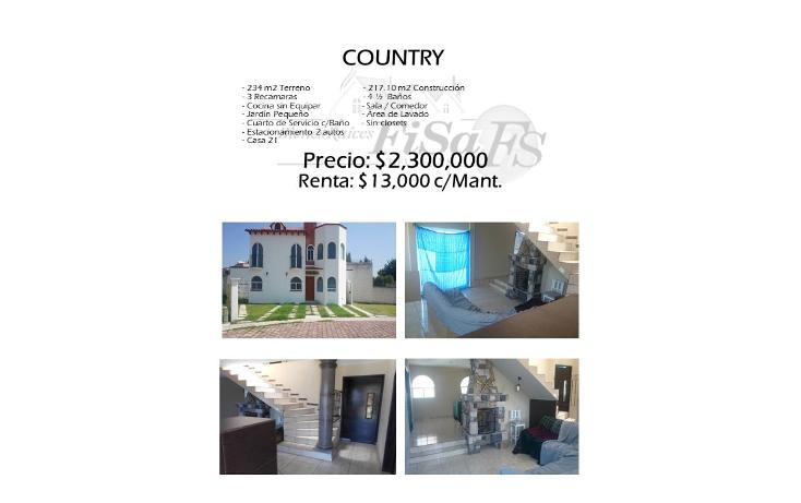 Foto de casa en renta en  , country, san juan del río, querétaro, 1631032 No. 01