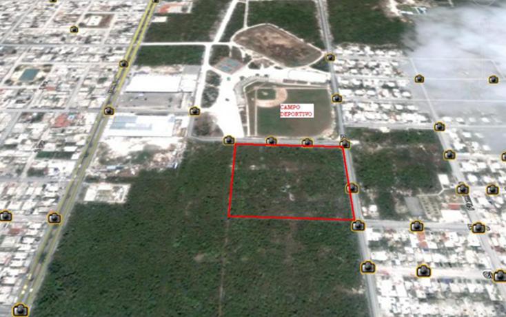 Foto de terreno habitacional en venta en  , cozumel centro, cozumel, quintana roo, 1067787 No. 01