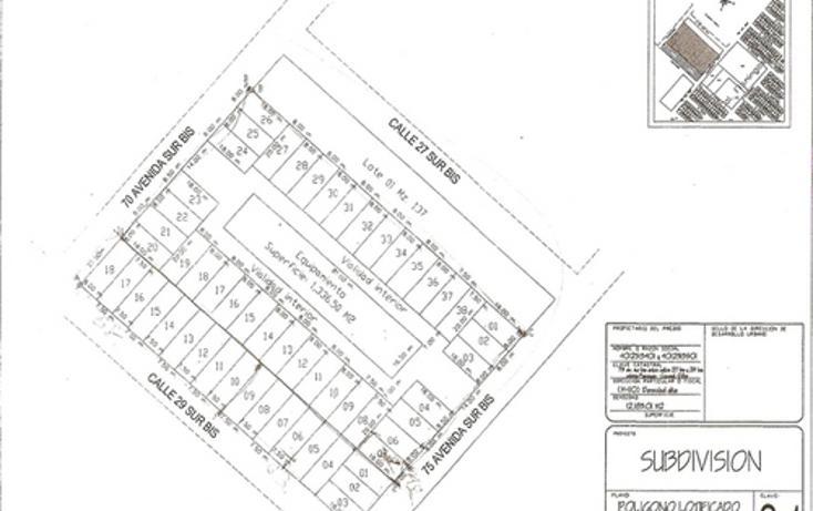 Foto de terreno habitacional en venta en, cozumel centro, cozumel, quintana roo, 1067787 no 02