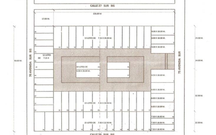 Foto de terreno habitacional en venta en  , cozumel centro, cozumel, quintana roo, 1067787 No. 03