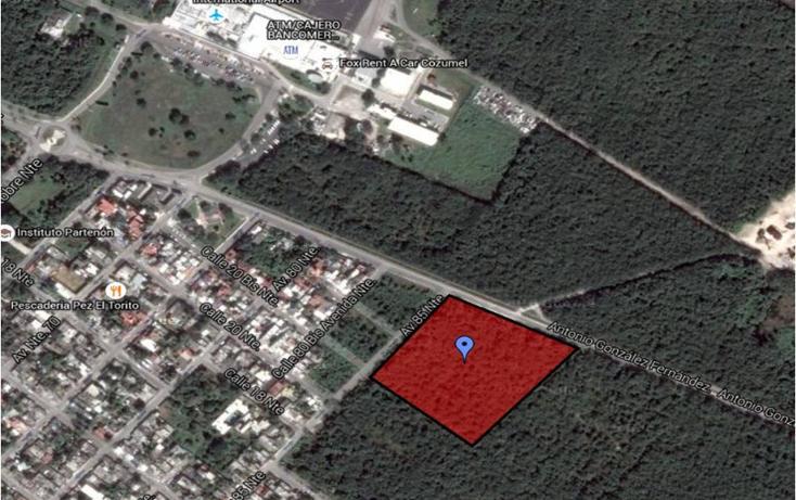 Foto de terreno habitacional en venta en  , cozumel, cozumel, quintana roo, 2631575 No. 01