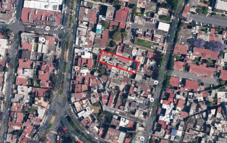 Foto de terreno habitacional en venta en, cuadrante de san francisco, coyoacán, df, 2024371 no 09