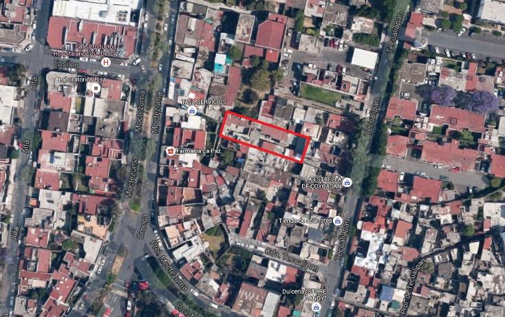 Foto de terreno habitacional en venta en  , cuadrante de san francisco, coyoac?n, distrito federal, 1664748 No. 09