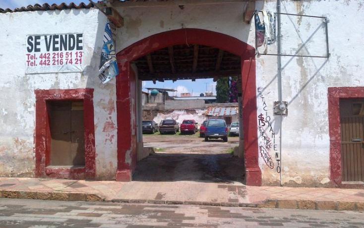Foto de terreno comercial en venta en cuauthemoc esq pino suarez, amealco de bonfil centro, amealco de bonfil, querétaro, 377948 no 02