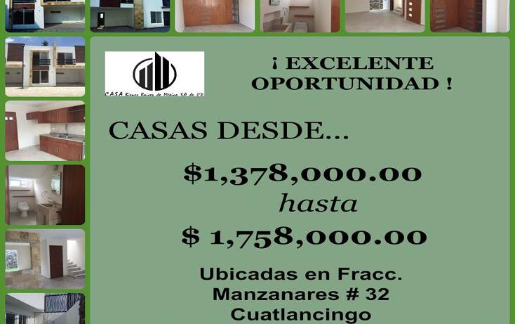 Foto de casa en venta en  , cuautlancingo, cuautlancingo, puebla, 1248987 No. 01