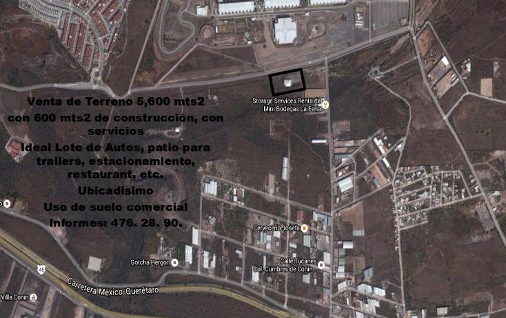 Foto de terreno comercial en venta en  , cumbres de conín tercera sección, el marqués, querétaro, 1977801 No. 01