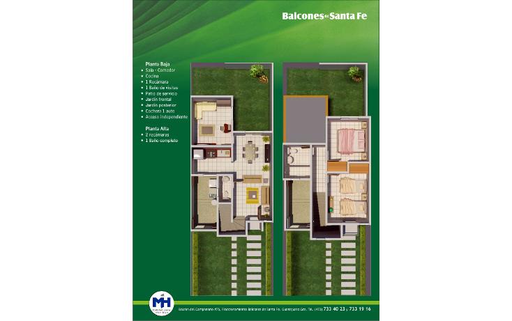 Foto de casa en venta en  , cumbres de santa fe, guanajuato, guanajuato, 1460821 No. 02
