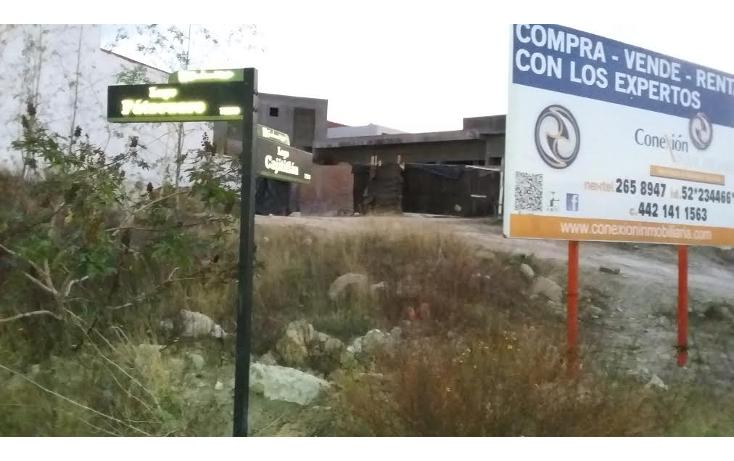 Foto de terreno habitacional en venta en  , cumbres del lago, querétaro, querétaro, 1125909 No. 01