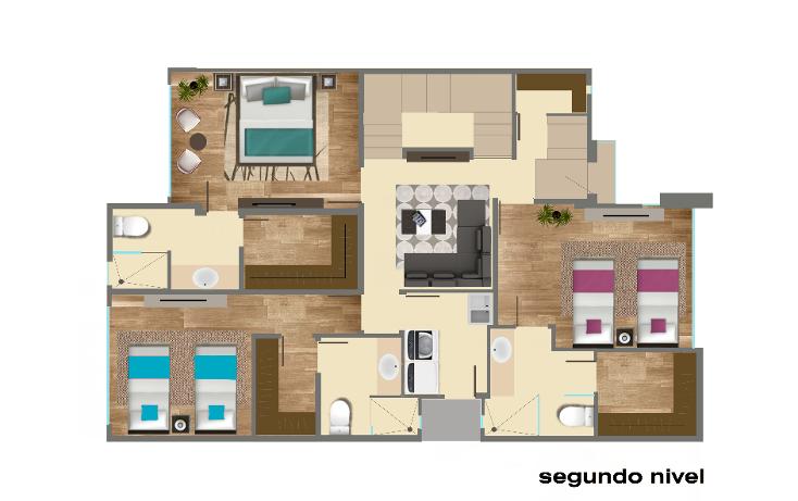 Foto de casa en venta en  , cumbres elite 7 sector, monterrey, nuevo le?n, 2015316 No. 03
