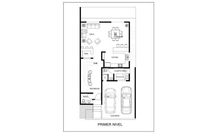 Foto de casa en venta en  , cumbres elite 8vo sector, monterrey, nuevo león, 1293779 No. 03