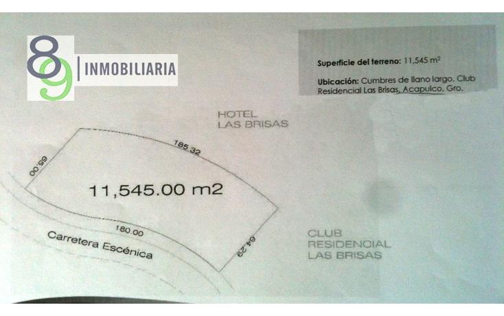 Foto de terreno comercial en venta en  , cumbres llano largo, acapulco de juárez, guerrero, 1301707 No. 01