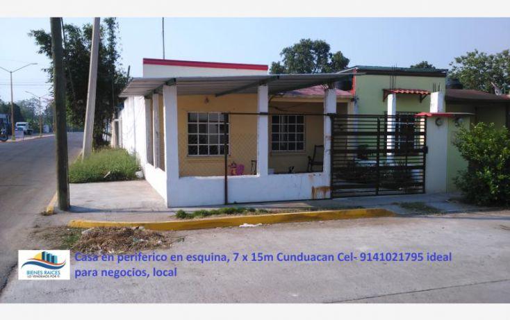 Foto de casa en venta en cunduacan periferico 4, cunduacan centro, cunduacán, tabasco, 1936646 no 01