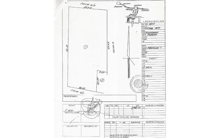 Foto de terreno habitacional en venta en  , cuzama, cuzamá, yucatán, 1259053 No. 09