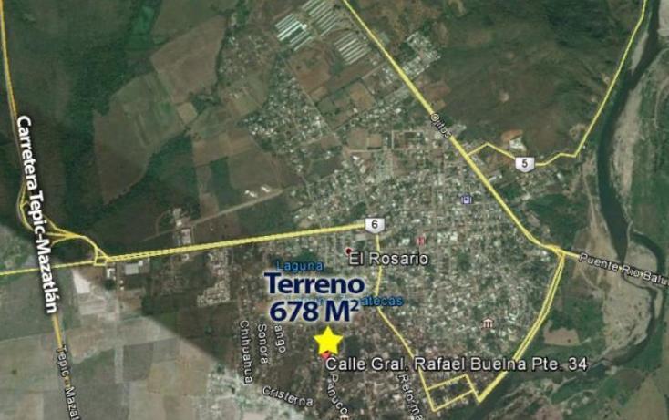 Foto de terreno habitacional en venta en rafael buelna d, rafael buelna, culiacán, sinaloa, 2704725 No. 05