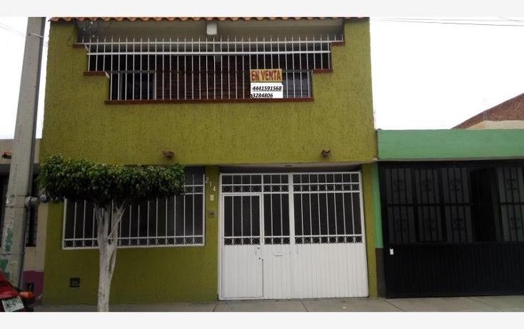 Foto de casa en venta en  , dalias, san luis potos?, san luis potos?, 1528124 No. 01