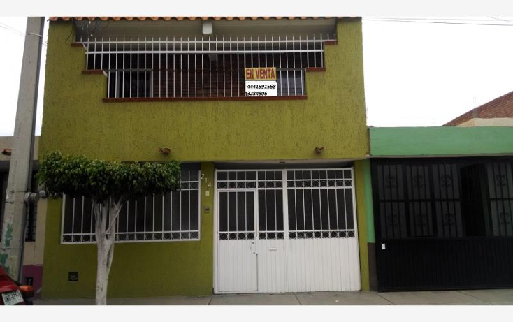 Foto de casa en venta en  , dalias, san luis potos?, san luis potos?, 1678314 No. 01