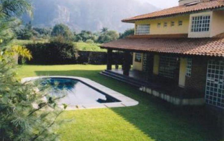 Foto de casa en venta en de la presa 20, los ocotes, tepoztlán, morelos, 1650288 no 01