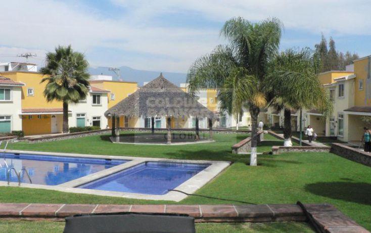 Foto de casa en condominio en venta en de las flores, pedregal de las fuentes, jiutepec, morelos, 1754660 no 01