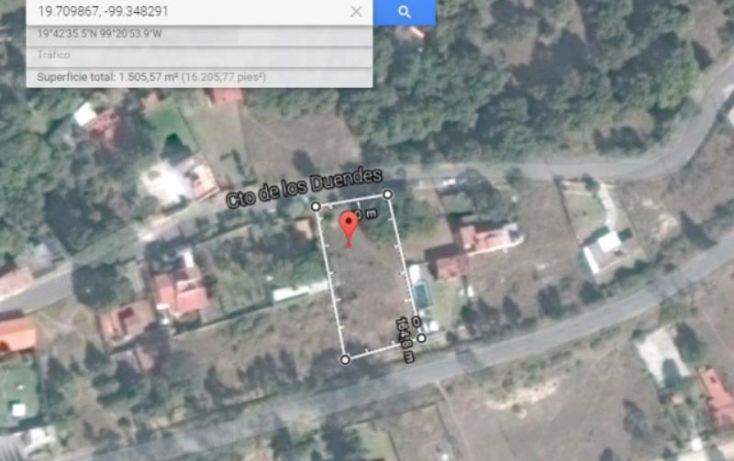 Foto de terreno habitacional en venta en de los duendes 54, san miguel cañadas, tepotzotlán, estado de méxico, 1031055 no 08