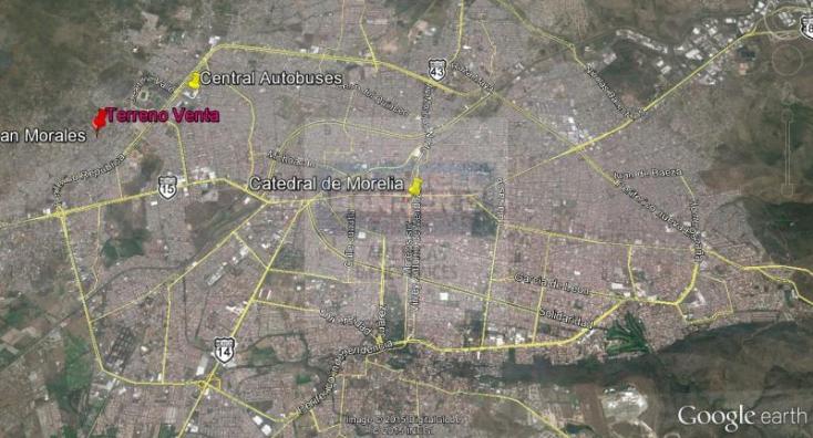 Foto de terreno habitacional en venta en  1, defensores de puebla, morelia, michoacán de ocampo, 1364363 No. 06