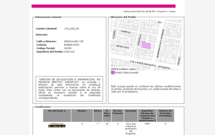 Foto de departamento en venta en degollado 195, buenavista, cuauhtémoc, distrito federal, 2023690 No. 03