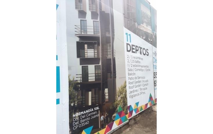 Foto de departamento en venta en  , del carmen, benito juárez, distrito federal, 1474885 No. 03