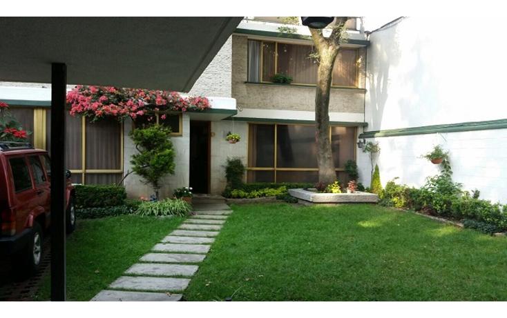 Foto de casa en venta en  , del carmen, coyoacán, distrito federal, 1502203 No. 01
