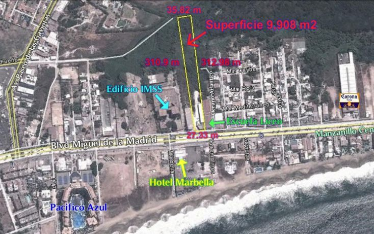 Foto de terreno comercial en venta en, del mar, manzanillo, colima, 1258239 no 11