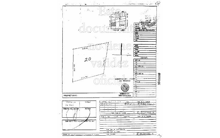 Foto de terreno comercial en venta en  , del parque, mérida, yucatán, 1330283 No. 04